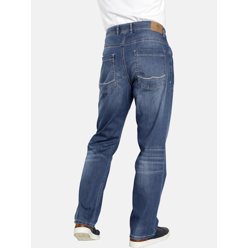 Jan Vanderstorm 5-Pocket-Jeans »WICKI«, aus bequemen Baumwoll-Mix