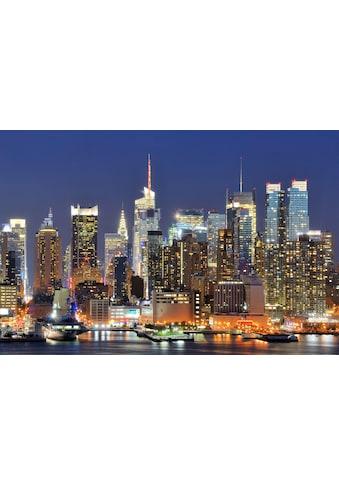 Papermoon Fototapete »Manhattan Skyline«, Vliestapete, hochwertiger Digitaldruck kaufen