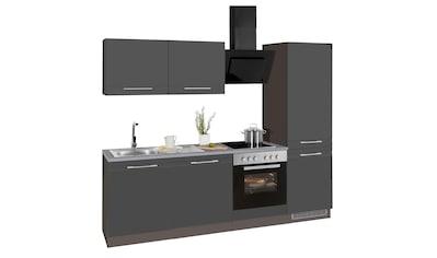 HELD MÖBEL Küchenzeile »Mito«, mit E-Geräten, Breite 240 cm kaufen