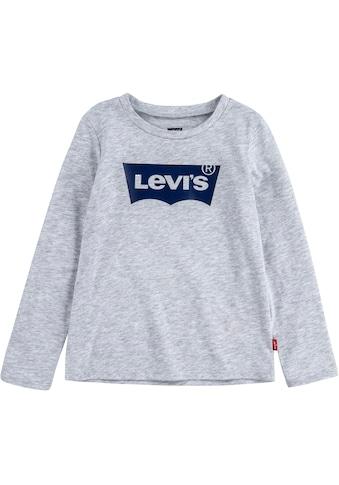 Levi's Kidswear Langarmshirt, in schmaler Basicform kaufen
