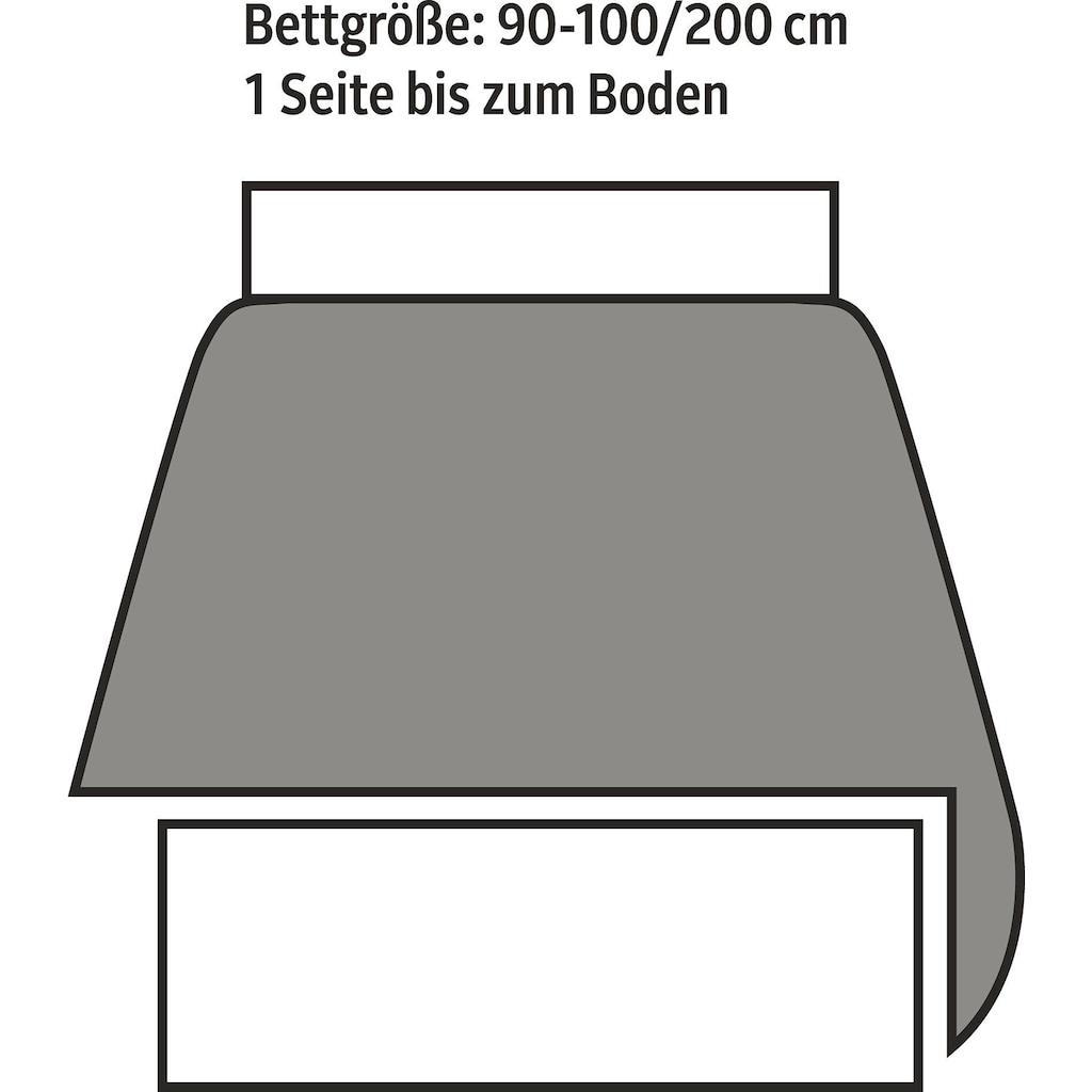 Dohle&Menk Tagesdecke »Streublümchen«, mit floralem Design