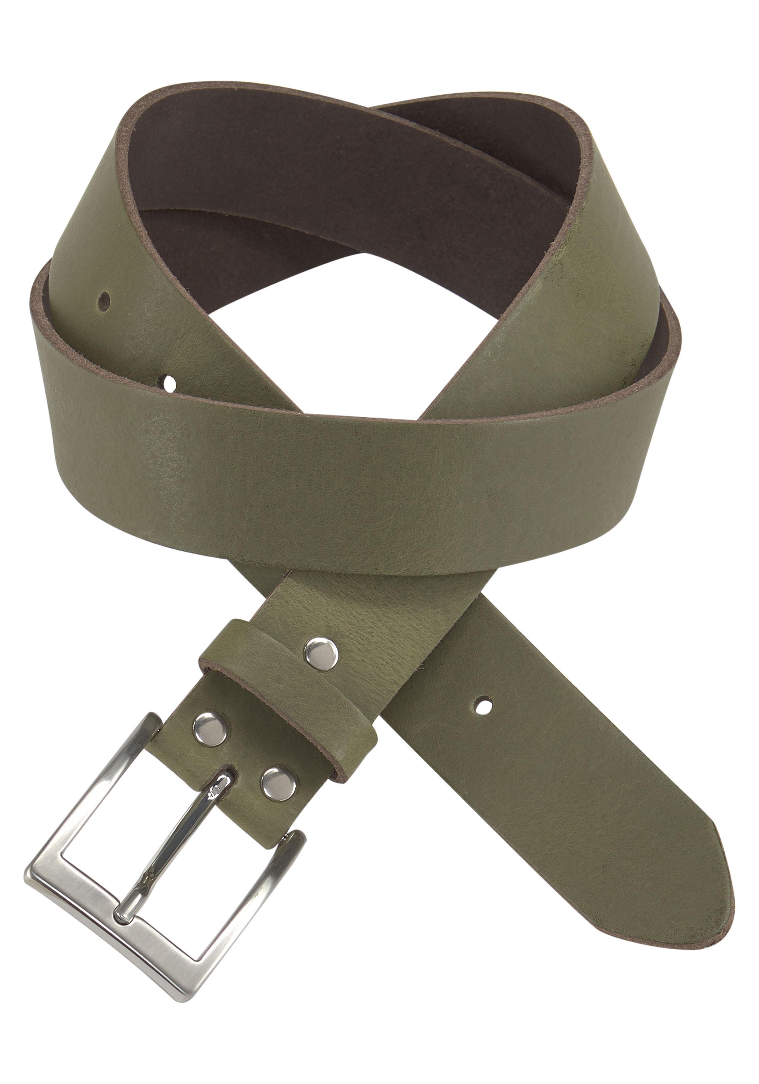 J.Jayz Ledergürtel grün Damen Gürtel Accessoires