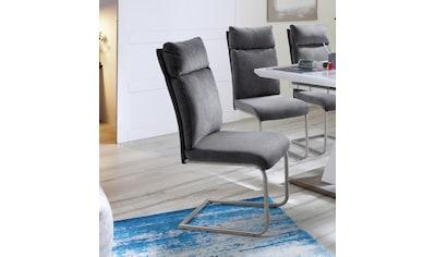 MCA furniture Freischwinger »PIA«, 2er-Set, Stuhl belastbar bis 120 kg, Kissenoptik kaufen