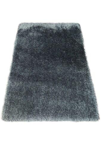 Bruno Banani Hochflor-Teppich »Airis«, rechteckig, 65 mm Höhe, Besonders weich durch Microfaser, Wohnzimmer kaufen