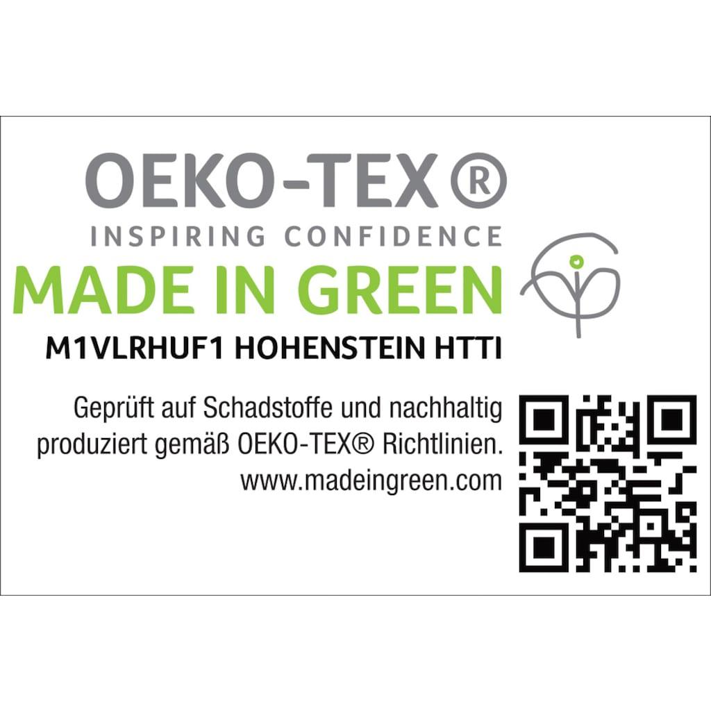 SETEX Wohndecke »Kuscheldecke«, mit Ziernaht in Melange-Optik