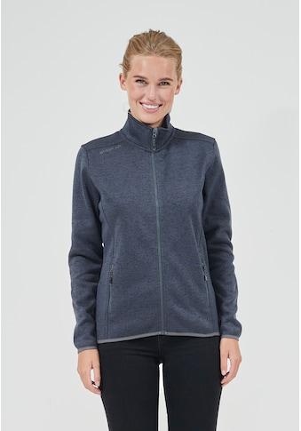 WHISTLER Fleecejacke »Maleo W Melange Fleece Jacket«, im sportlichen Wollstrick-Look kaufen