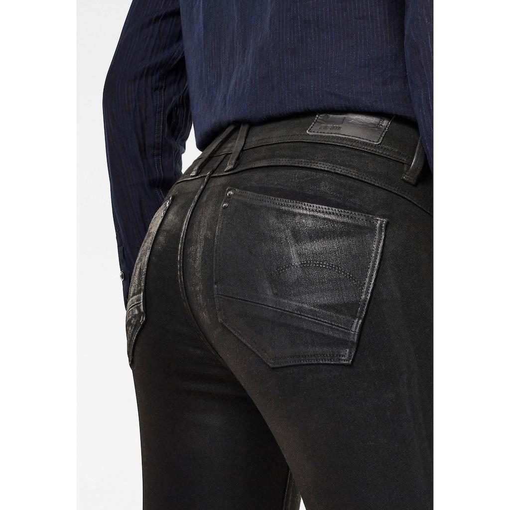 G-Star RAW Skinny-fit-Jeans »Lynn Mid Waist Skinny Jeans«, aus weicher Denimqualität mit Stretch