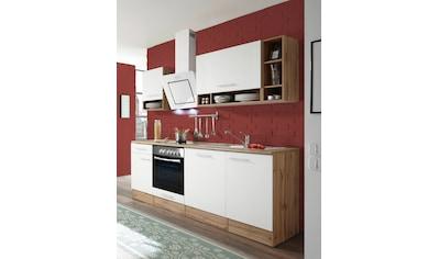 RESPEKTA Küchenzeile »Lübeck«, mit E - Geräten, Breite 220 cm kaufen