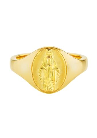 CAÏ Fingerring »925/- Silber vergoldet Madonna«, Ring kaufen