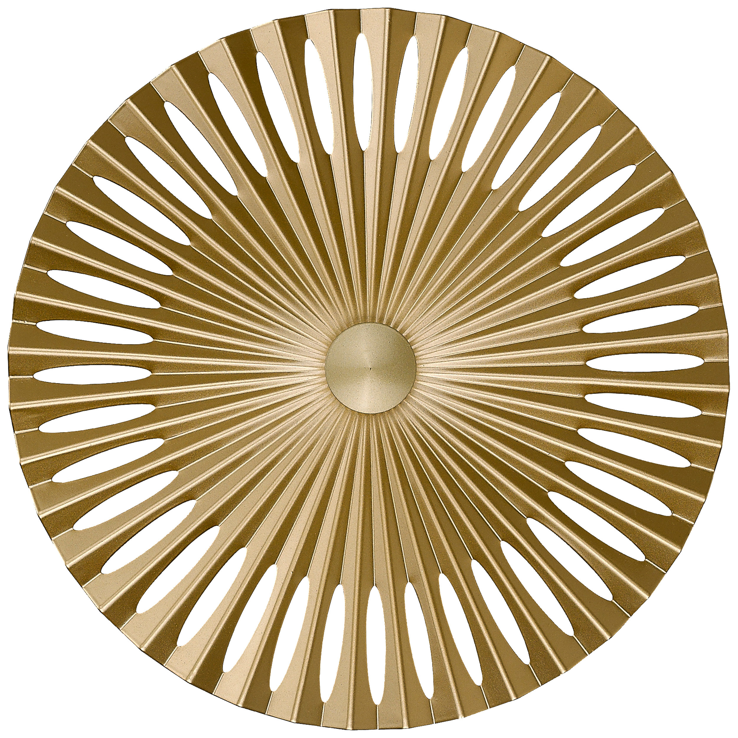 Brilliant Leuchten Phinx LED Wandleuchte 40cm gold