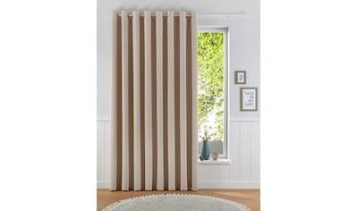 my home Verdunkelungsvorhang »Solana«, Vorhang, Fertiggardine, Gardine, Breite 280 cm, verdunkelnd kaufen