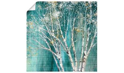 Artland Wandbild »Blaue Birke«, Bäume, (1 St.), in vielen Größen & Produktarten... kaufen