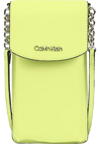 Calvin Klein Handytasche »CK MUST PHONE POUCH XBODY«, mit Kettendetail kaufen