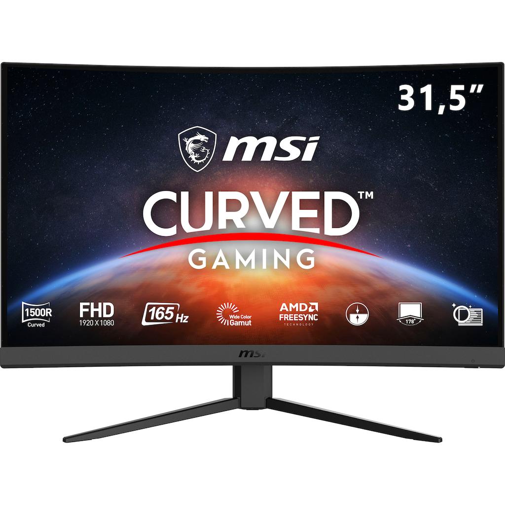 "MSI Gaming-Monitor »Optix G32C4«, 80 cm/31,5 "", 1920 x 1080 px, Full HD, 1 ms Reaktionszeit, 165 Hz"