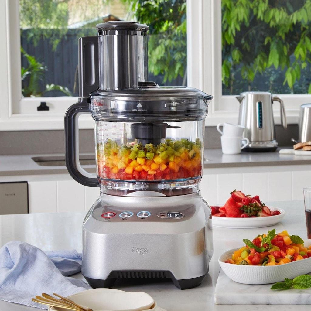Sage Zerkleinerer »Foodprozessor the Kitchen Wizz Peel and Dice SFP820BAL2EEU1«, 2000 W