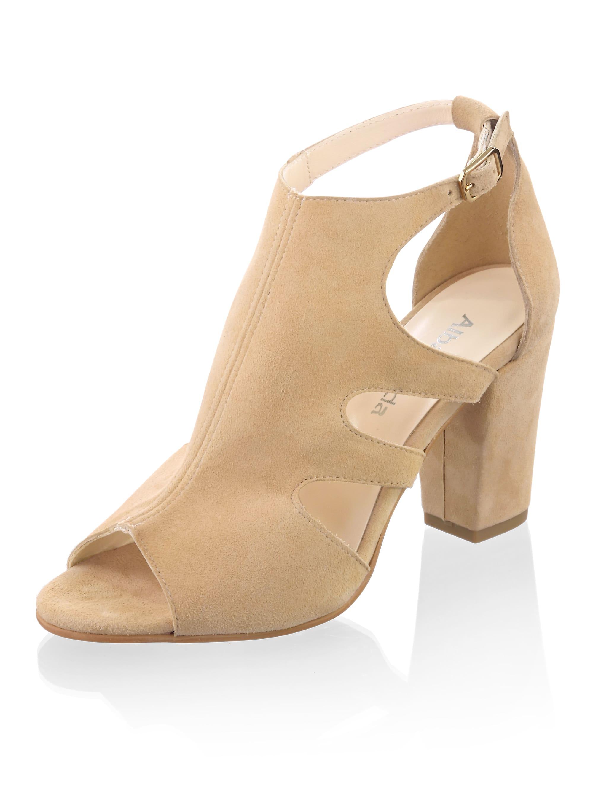 alba moda -  Sandalette mit seitlichen Cutouts