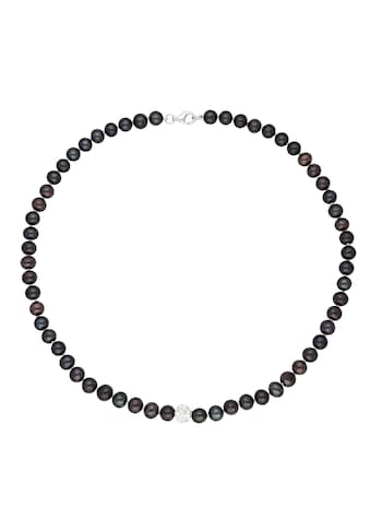 Vivance Perlenkette »peacock pearls« kaufen
