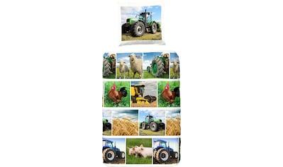 Kinderbettwäsche »Agri«, good morning kaufen