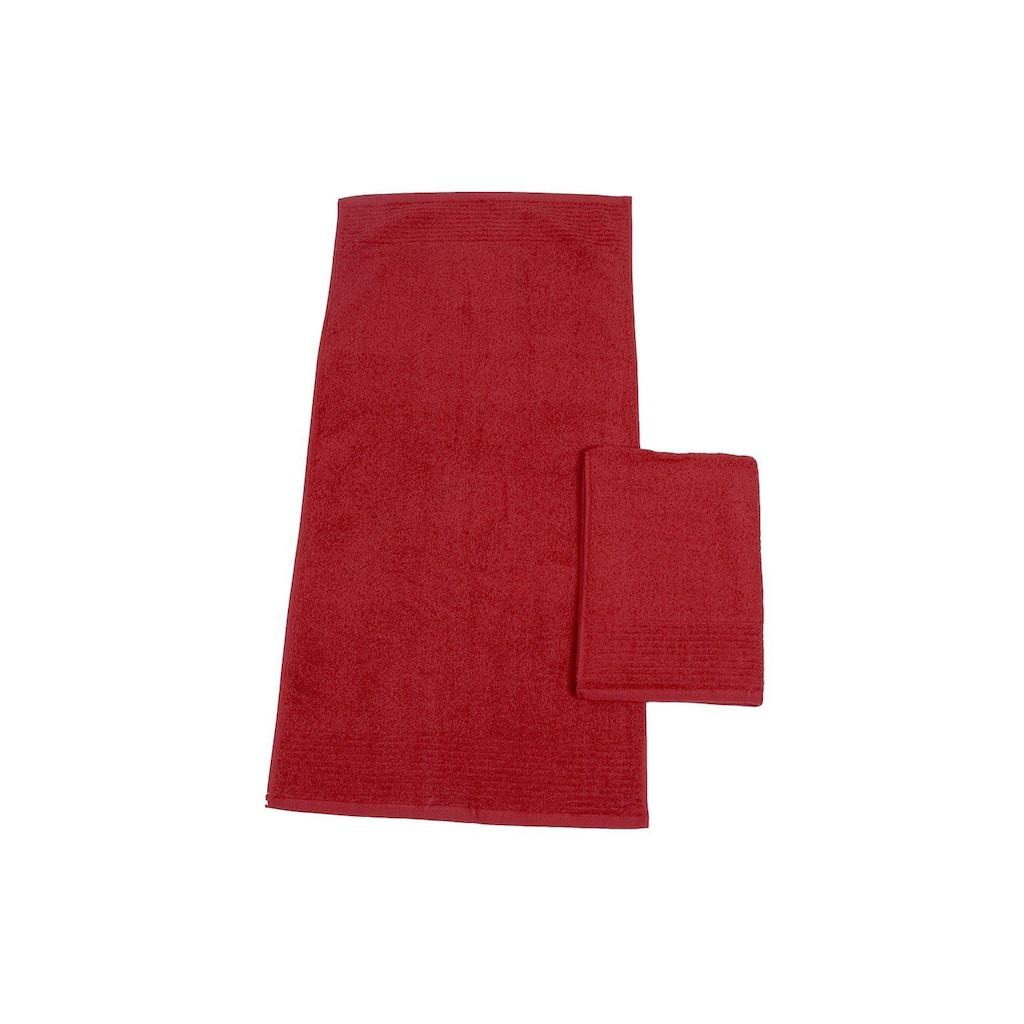 Dyckhoff Handtücher »Brillant«, (2 St.), feine Streifenbordüre