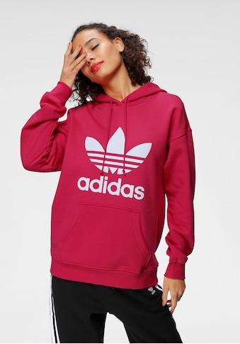 adidas Originals Hoodie »ADIDAS ADICOLOR TREFOIL«, mit großem Logodruck kaufen