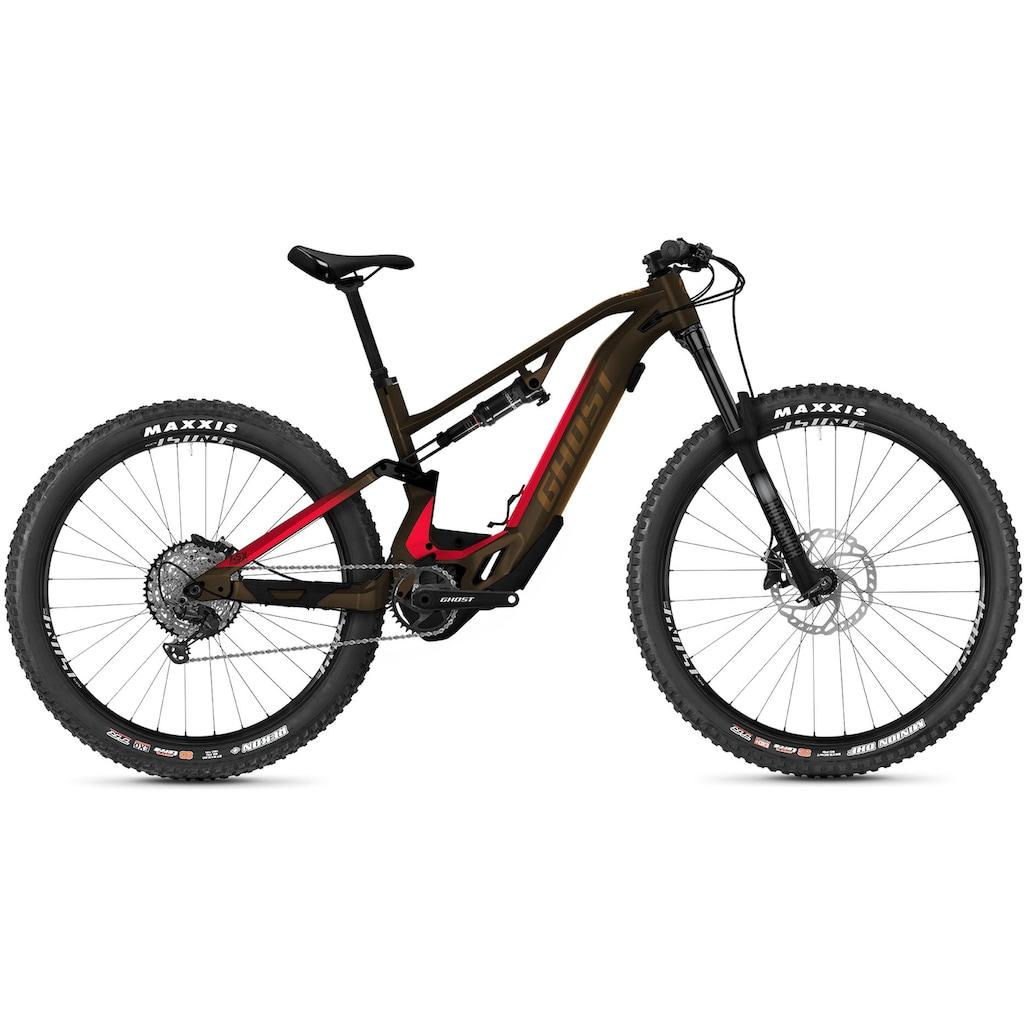 Ghost E-Bike »HybRide ASX Essential 130«, 12 Gang, Shimano, XT RD-M8100, Mittelmotor 250 W
