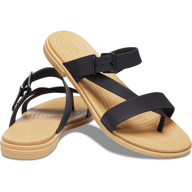 Crocs Zehentrenner »Tulum Toe Post Sandal«