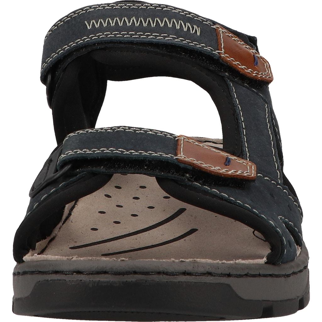 Rieker Sandale »Lederimitat/Textil«