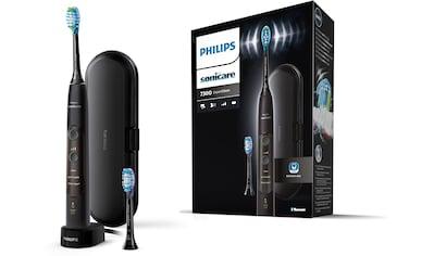 Philips Sonicare Elektrische Zahnbürste »HX9601/02«, 2 St. Aufsteckbürsten, ExpertClean 7300 Schallzahnbürste kaufen