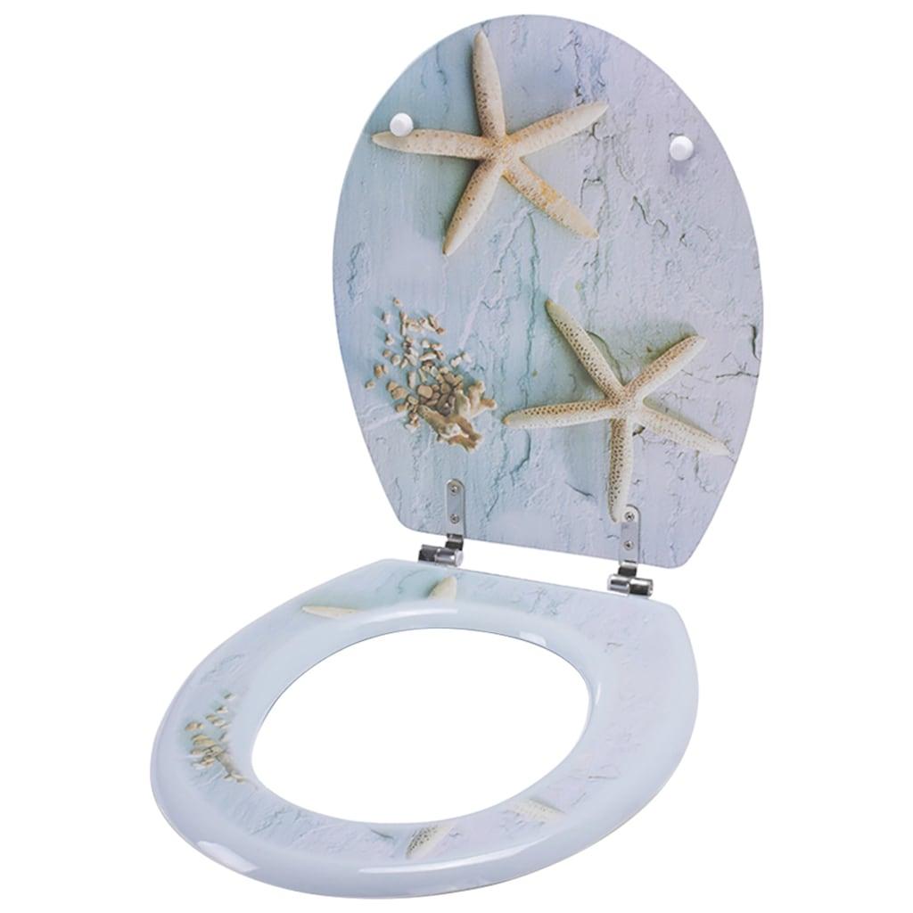 MSV WC-Sitz »SEESTERNE«, MDF-Kern