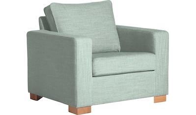 Max Winzer® Sessel »Nelly«, mit Kederverzierung kaufen