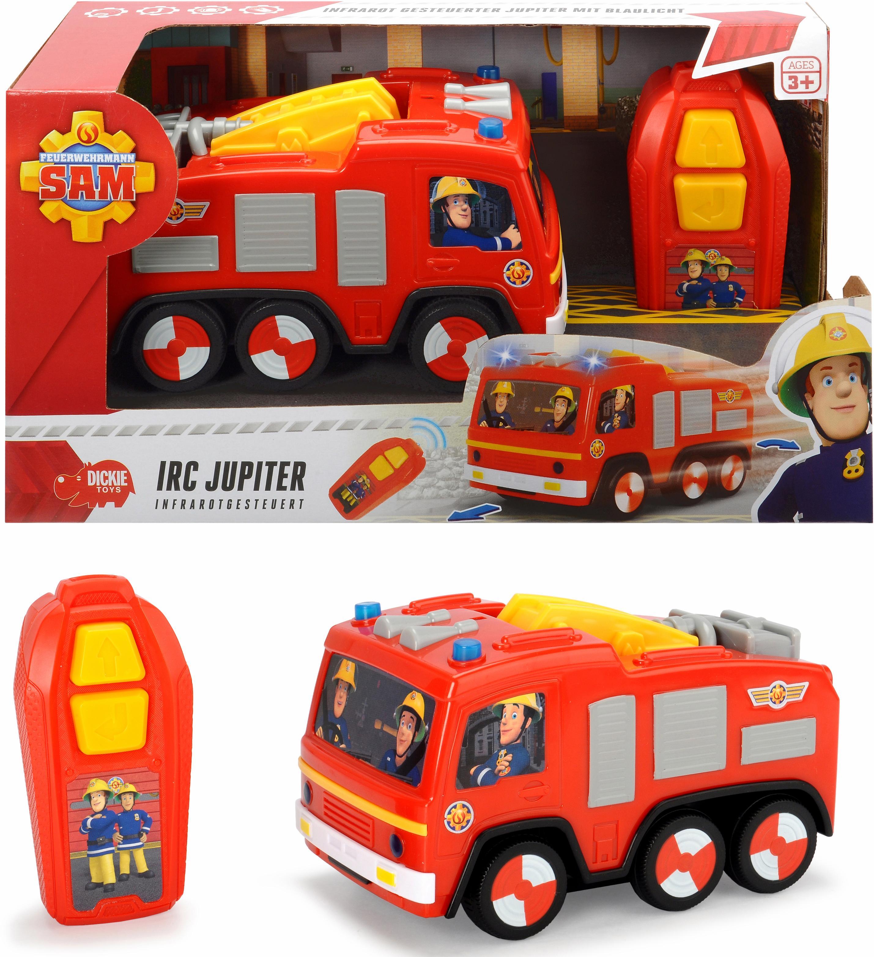 Dickie Toys Ferngesteuertes Feuerwehrauto mit L...