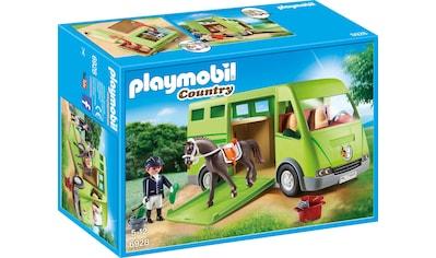 Playmobil® Konstruktions-Spielset »Pferdetransporter (6928), Country«, Made in Europe kaufen