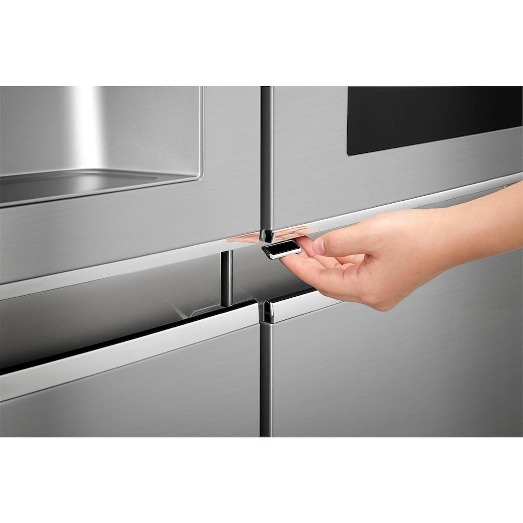 LG Side-by-Side »GSX961NEAZ«, InstaView Door-in-Door™