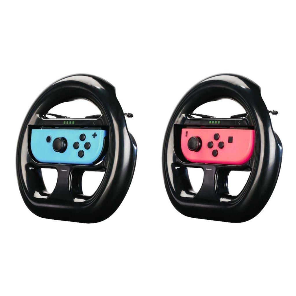Hama XXL-Lenkrad für Nintendo Switch, 2er-Set, Schwarz