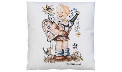 M.I. Hummel Kissenbezug »I hab di gern - Junge«, (1 St.), mit Hummel Figur kaufen