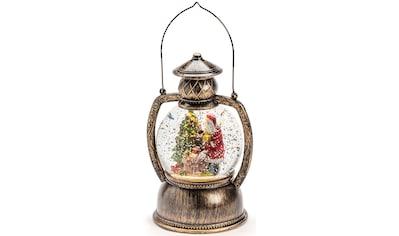 KONSTSMIDE LED Dekolicht, Warmweiß, LED Kugellaterne Weihnachtsmann, für den... kaufen