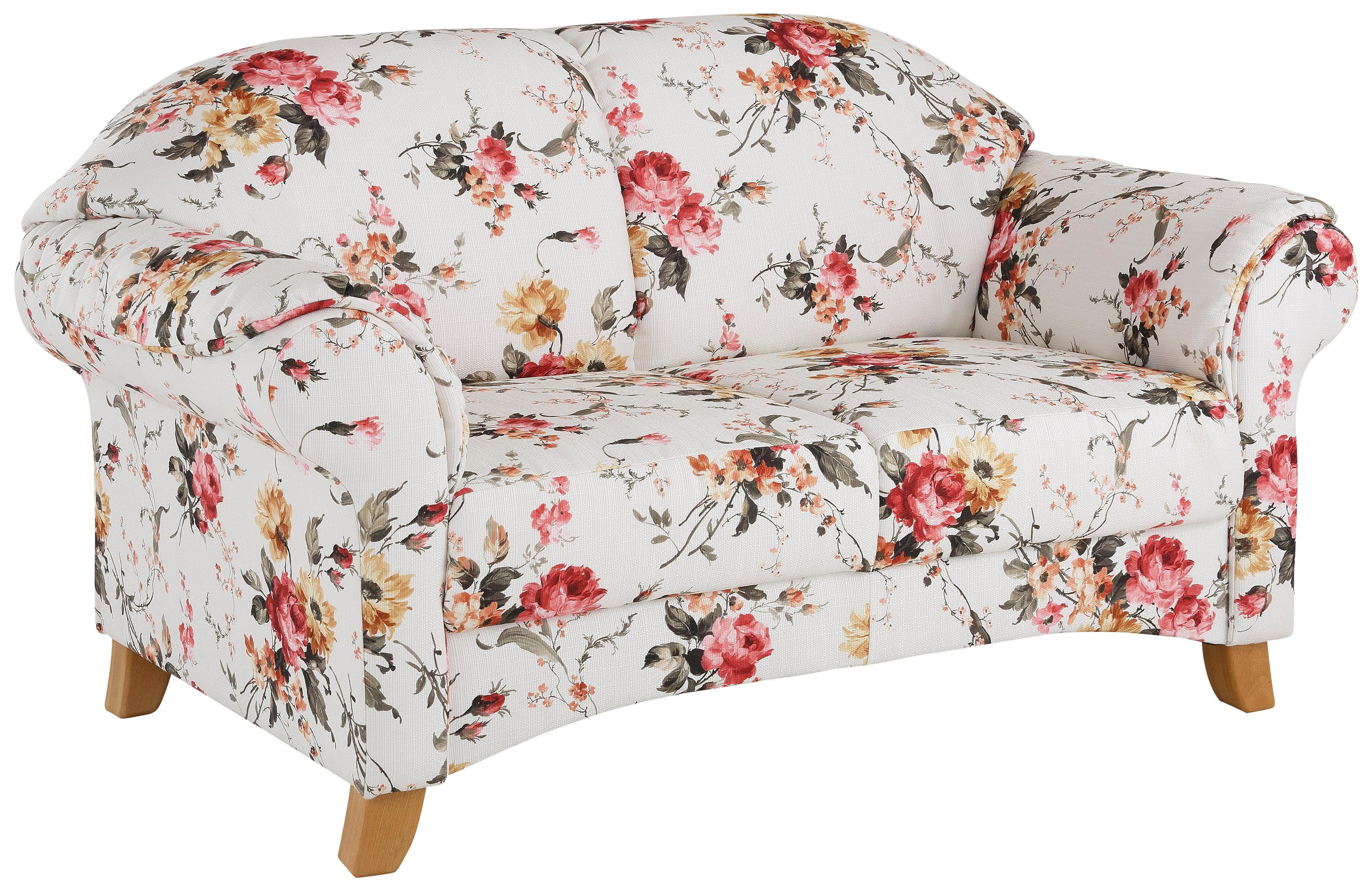 Home affaire 3-Sitzer Mayfair mit Blumenmuster