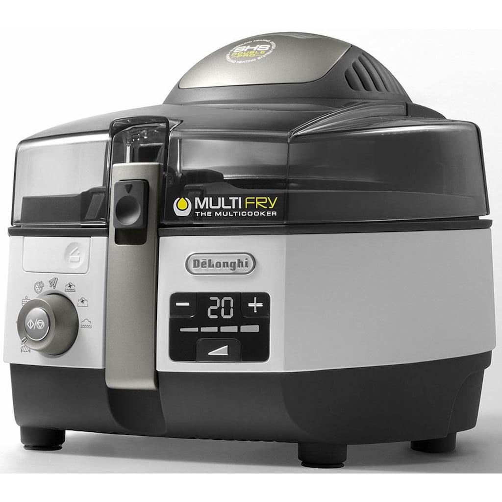 De'Longhi Heißluftfritteuse »MultiFry EXTRA CHEF PLUS FH1396«, 2400 W, Multicooker mit 4-in-1 Funktion, auch zum Brotbacken, Fassungsvermögen 1,7 kg