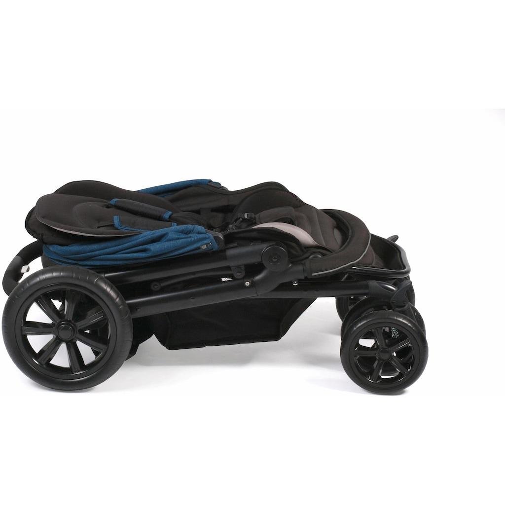 CHIC4BABY Kinder-Buggy »Pronto, navy«, mit feststellbaren Doppelschwenk-Vorderrädern; Kinderwagen, Buggy, Sportwagen, Sportbuggy, Kinderbuggy, Sport-Kinderwagen