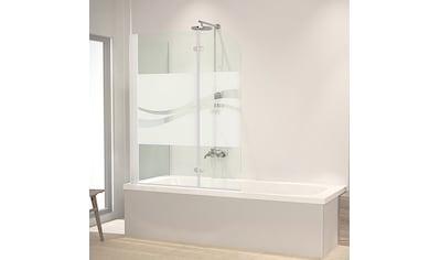 Schulte Badewannenaufsatz »Liane«, Dekor liane kaufen