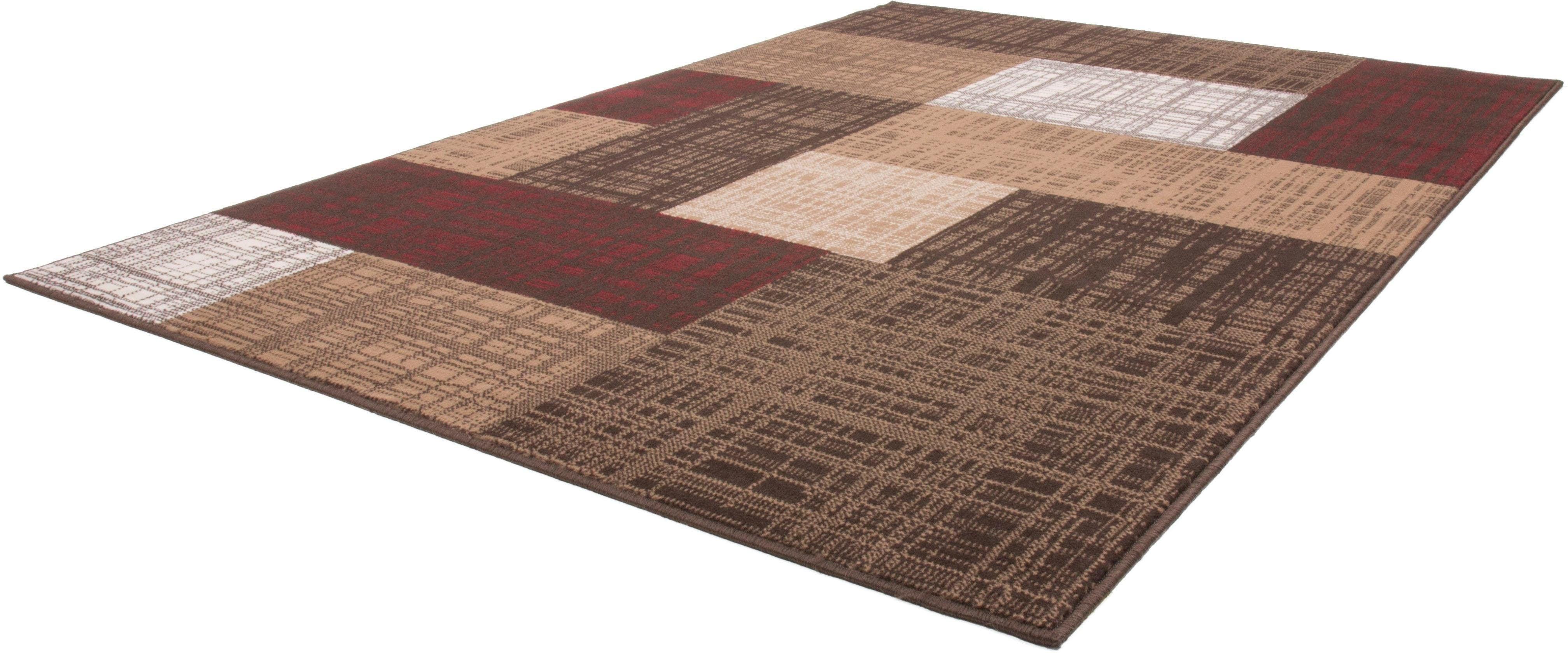 Teppich Morena 1555 calo-deluxe rechteckig Höhe 10 mm maschinell gewebt