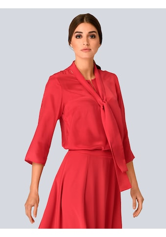 Alba Moda Bluse mit dekorativer Schluppe kaufen
