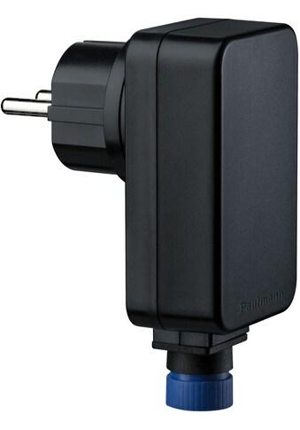 Paulmann Trafo »Outdoor Plug & Shine Power Supply Schwarz Kunststoff«, IP44 230/24V DC... kaufen