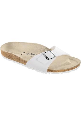 Birkenstock Sandale »40733«, Madrid BF Weiß kaufen