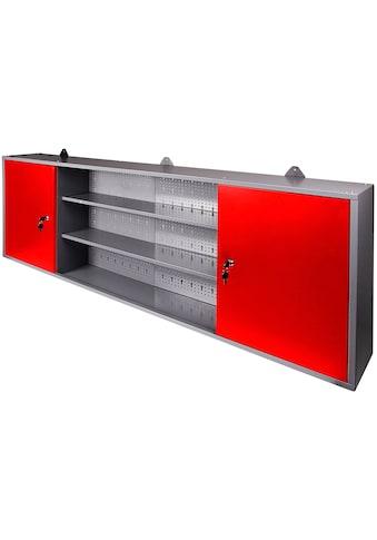 ONDIS24 Werkstatt-Set »Paul«, 2 Türen, 2 Einlegeböden, Eurolochrückwand kaufen
