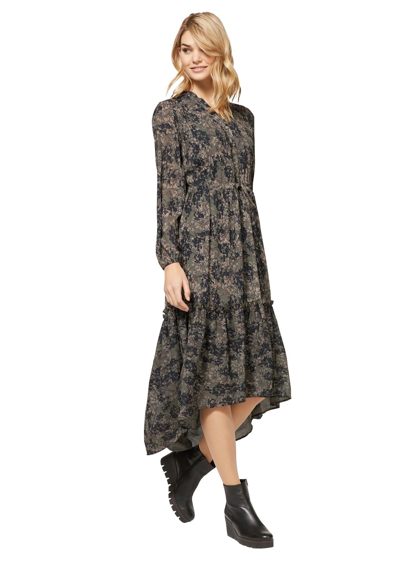 Linea Tesini By Heine Vokuhila Kleid Druck Kleid Bestellen Baur