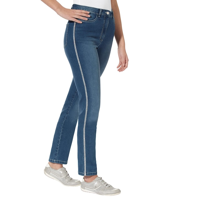 Classic Basics Jeans in aktueller Waschung
