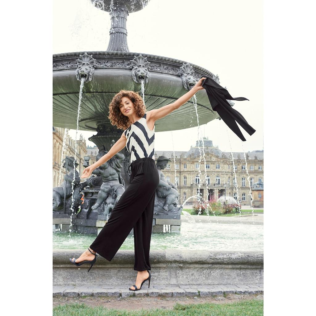 Aniston SELECTED Bolero, mit funkelndem Verschlussknopf