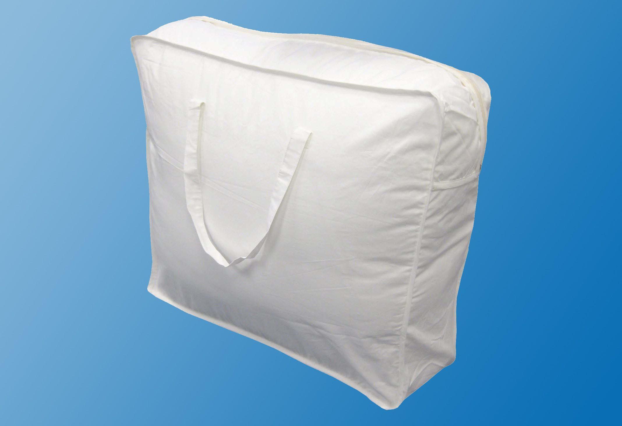 Dreams Aufbewahrungstasche, aus luftdurchlässigem Material weiß Winterbettdecke Bettdecken Bettdecken, Kopfkissen Unterbetten Aufbewahrungstasche