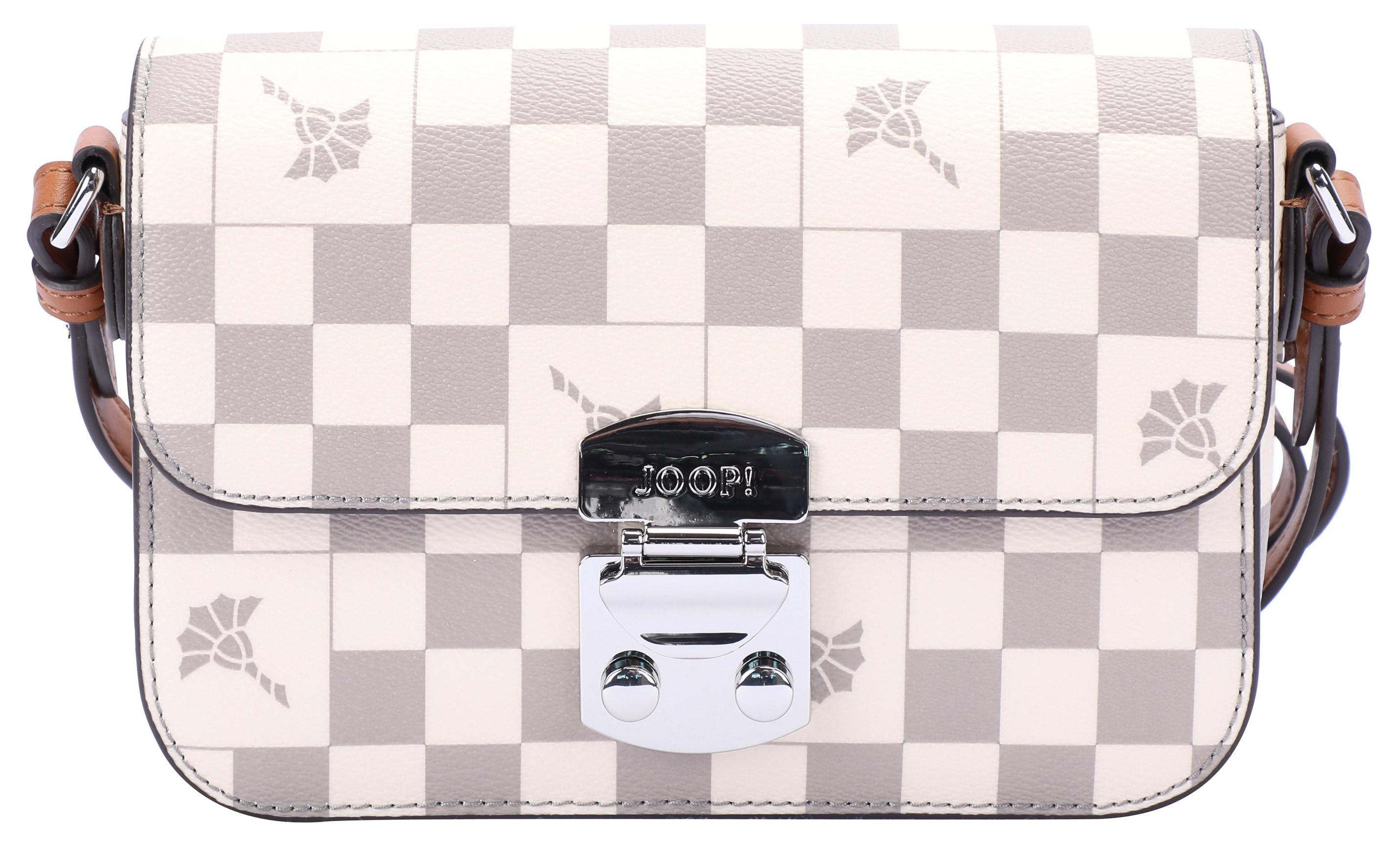 joop! - Joop Umhängetasche cortina piazza uma shoulderbag xshf, mit silberfarbenen Details